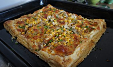 "Receita ""Pizza"" de Massa Folhada"