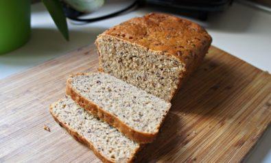 Receita de Pão Integral com Farinha de Milho e Aveia
