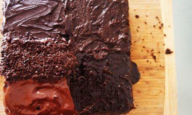 5 tipos diferentes de cobertura de chocolate