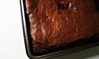 Receita de Brownie de Chocolate Triplo