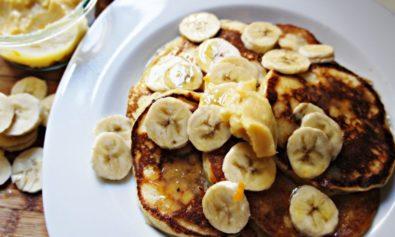 Receita de Panquca de Banana
