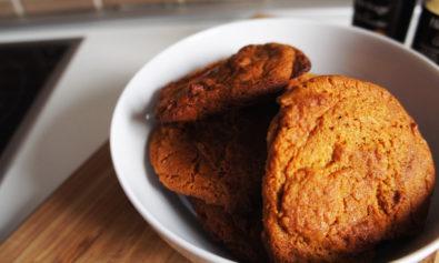 Biscoitos de Gengibre, Mel e Pimenta