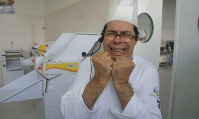 Professor Odoaldo a beira de um ataque de nervos