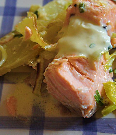 5 receitas de papillote de salmão