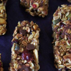 Receita Simples e Deliciosa de Barrinha de Cereal