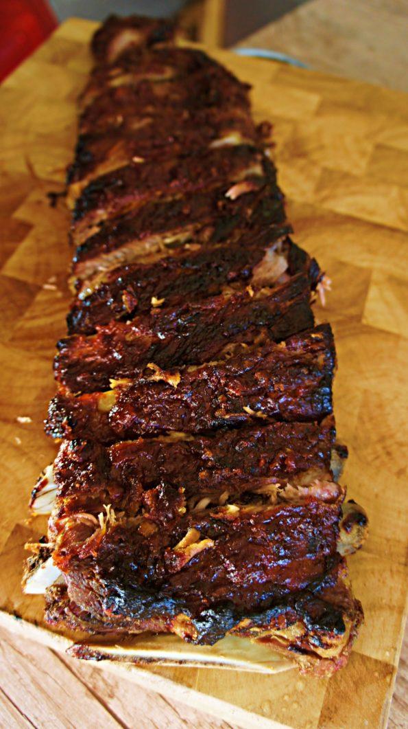 Costela de Porco com Barbecue de Goiaba