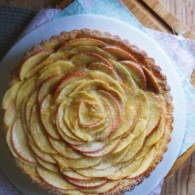 Receita de Torta Francesa de Maçã com Pâte Sablée