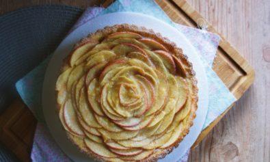 Torta de maçã e patê sablée