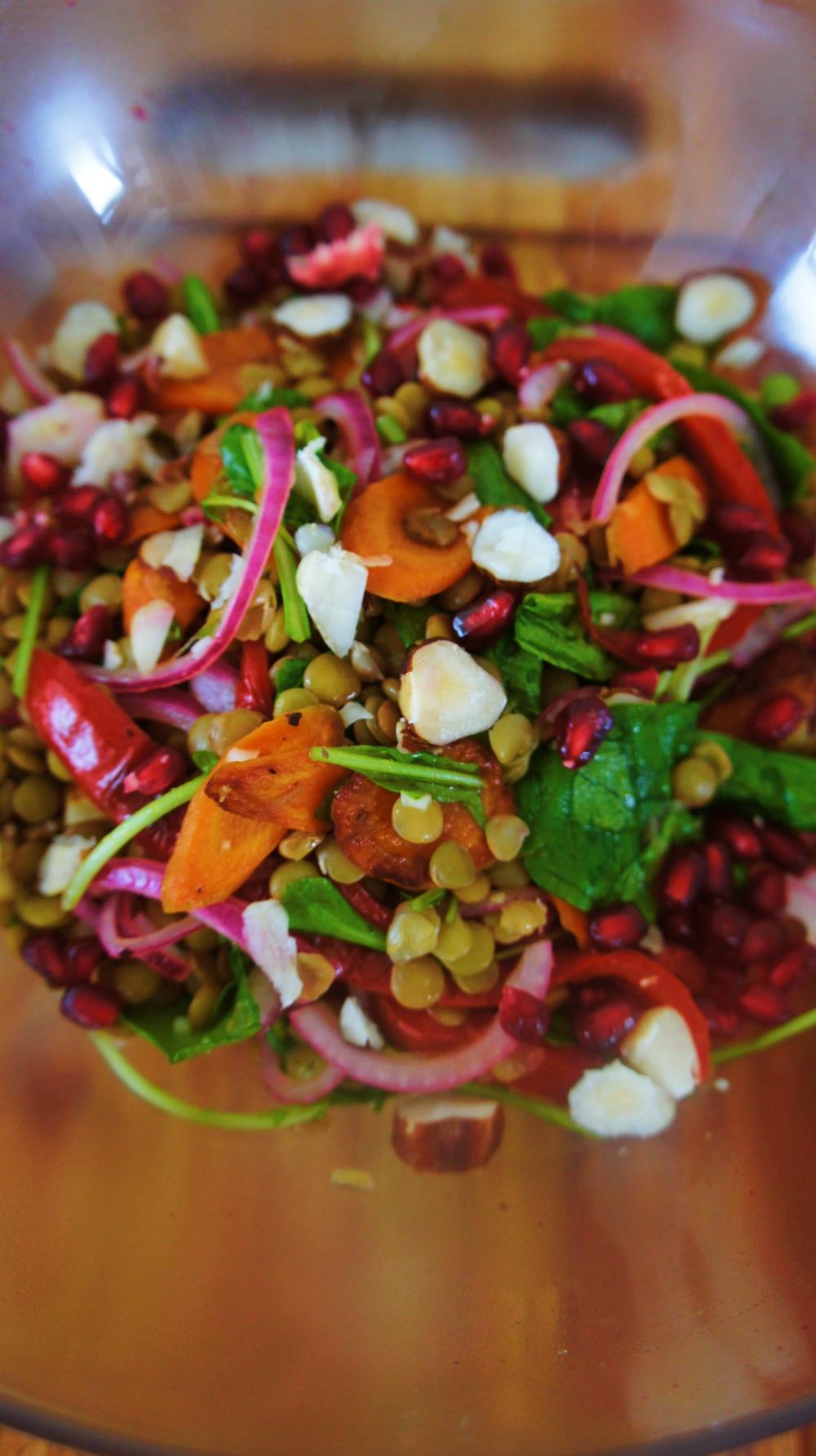 Receita de Salada de Lentilha com Tudão