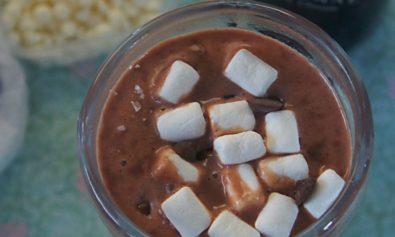 Receita de Chocolate Quente de Baileys