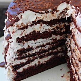 Receita de Bolo Nhá Benta (Bolo de Chocolate com Marshmallow)