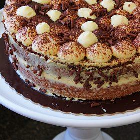 Receita de Torta Tiramisu
