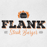 Delivery Flank Steak Burger