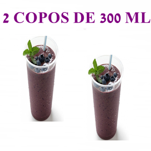 2 Copos Açaí 300 ML