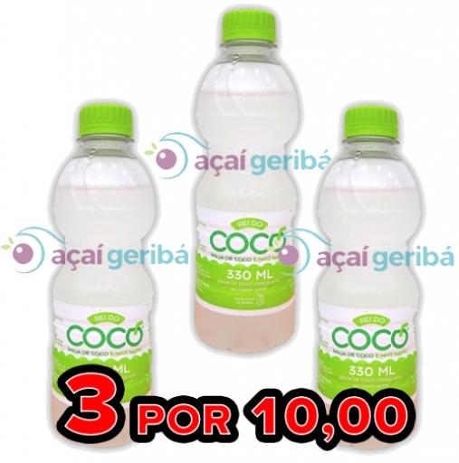 3 Água de Coco Por 10,00