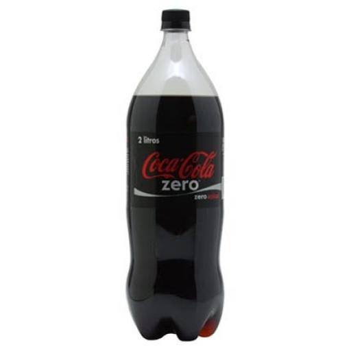Coca Zero 2 Litros