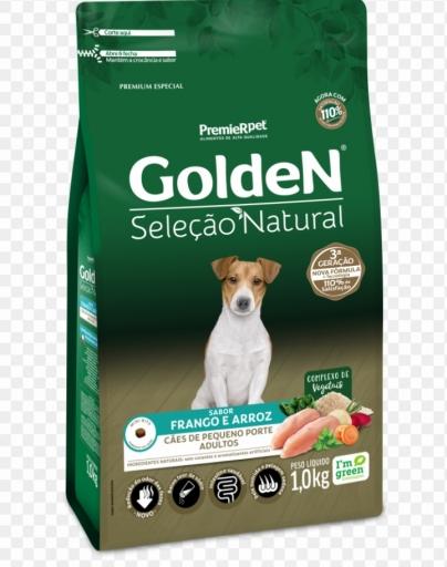 Golden Selação Natural Cães de Pequeno Porte Adultos 1KG