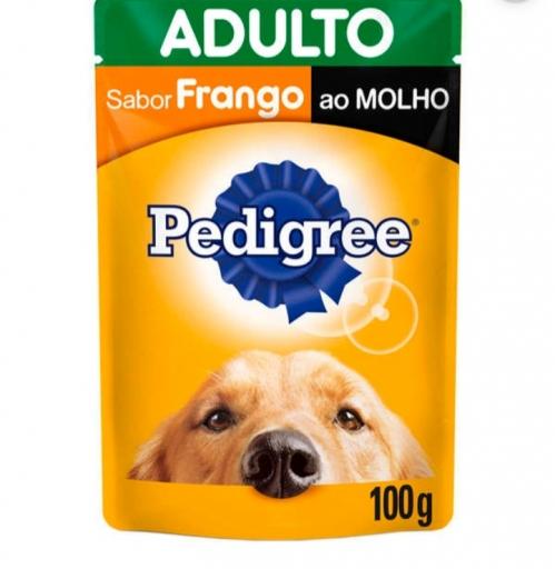 Sachê Pedigree Adultos Sabor Frango 100G