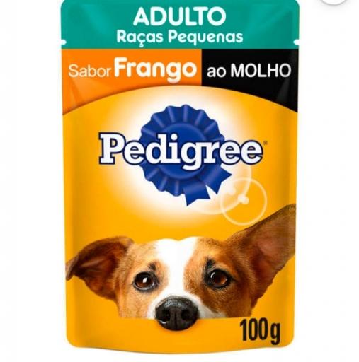 Sachê Pedigree Adultos Raças Pequenas Sabor Frango 100G