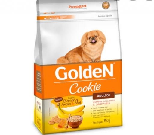 Golden Cookie Adultos Sabor Banana, Aveia e Mel 350G