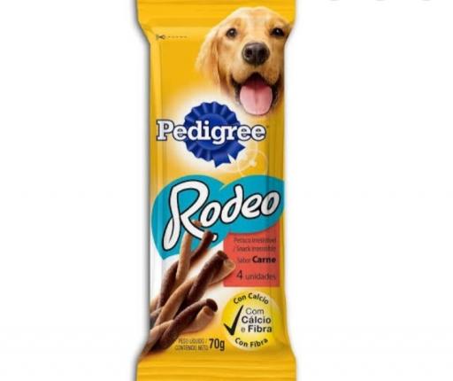 Pedigree Petisco Rodeo Sabor Carne 70G