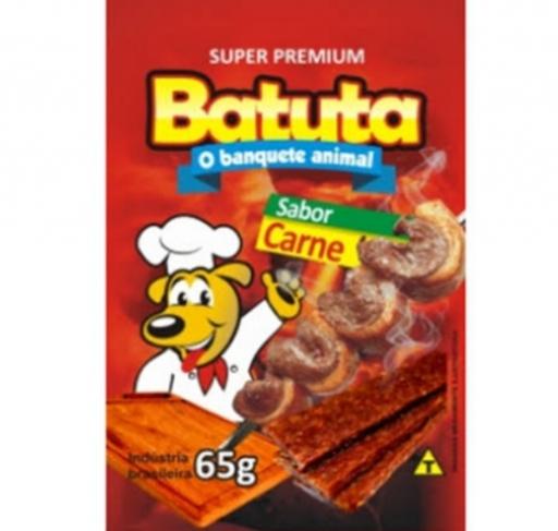 Batuta Bifinhos Sem Corantes Sabor Carne 65G