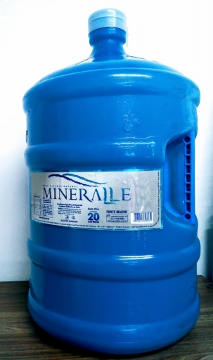 Água Mineral 20L Mineralle (Líquido + Vasilhame)