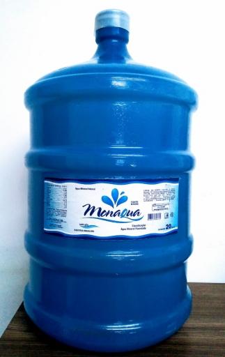 Água Mineral 20L Monaqua