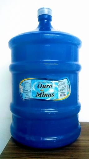 Água Mineral 20L Ouro de Minas (Líquido + Vasilhame)