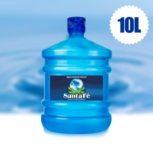 Água Mineral Santa Fé 10L (Necessita Vasilhame)