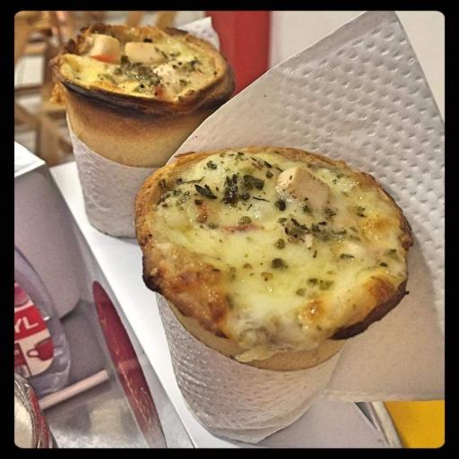 Pizza Cone Frango C/catupiry