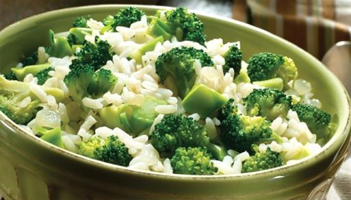Arroz C/brócolis