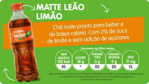 Mate Leão Limão 450ML