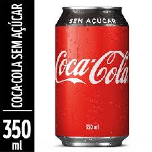 Refrigerante Coca-Cola Zero Lata 350ML