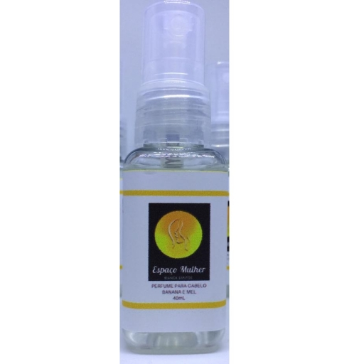 Perfume Para Cabelo Espaço Mulher Banana e Mel 40ML
