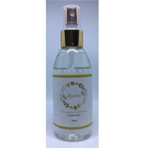Perfume Para Papéis Aroma Flores 100ML