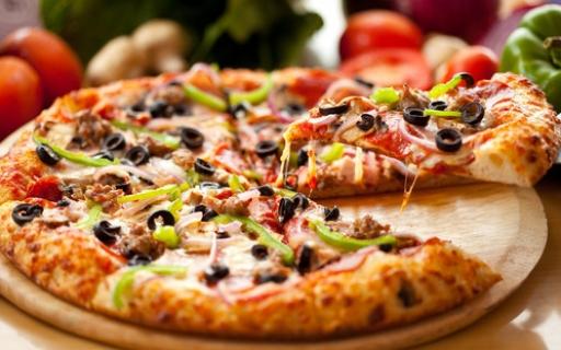 Pizza Grande Moda Da Casa