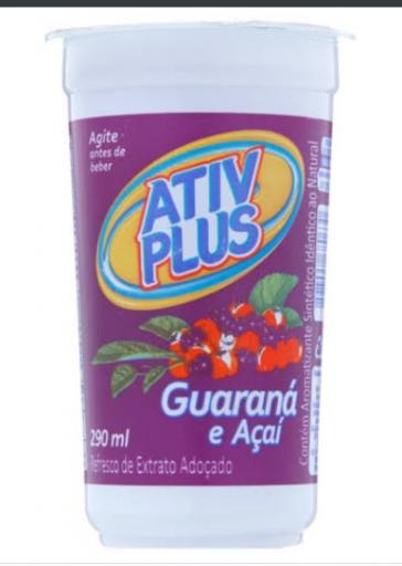 Suco Ativ Plus Guarana C\ Açai
