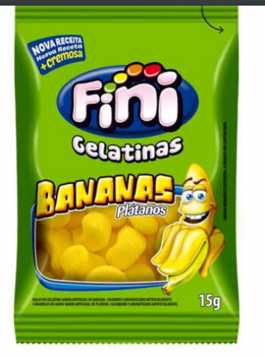 Bala Fini Bananas
