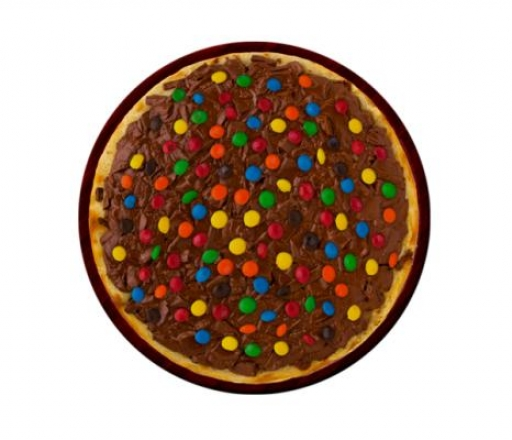 Pizza Doce  M&ms;