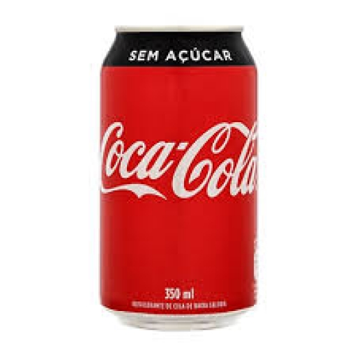 Coca-Cola Zero Lata 350ML C/12