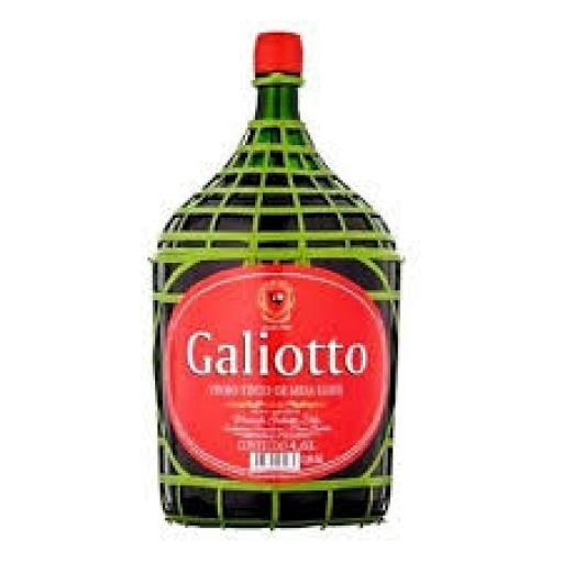 Vinho Galiotto Tinto Garrafão