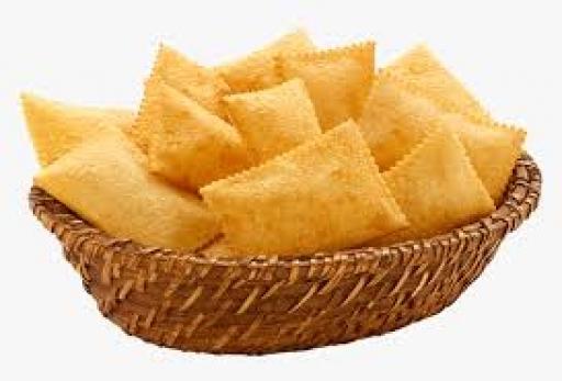 Porção Pastel Bacalhau 12 Unid.