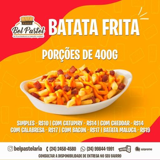Batata Frita Simples 400G