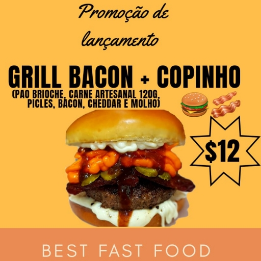 Grill Bacon + Copinho
