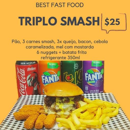 Triplo Smash+ Refri 350 ML