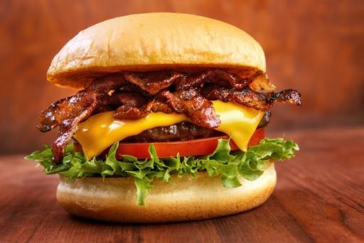 Hambúrguer C/bacon