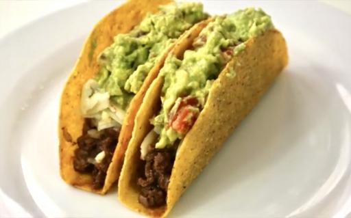 Tacos de Chilli Con Carne