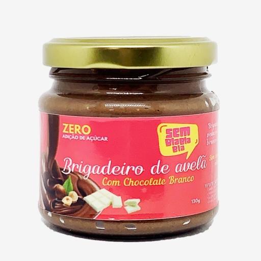 Brigadeiro de Avelã Com Chocolate Branco Zero Açúcar 130G