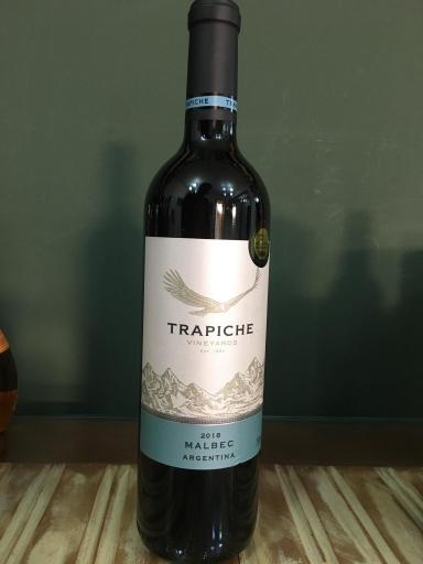 Vinho Argentino Tinto Seco Trapiche